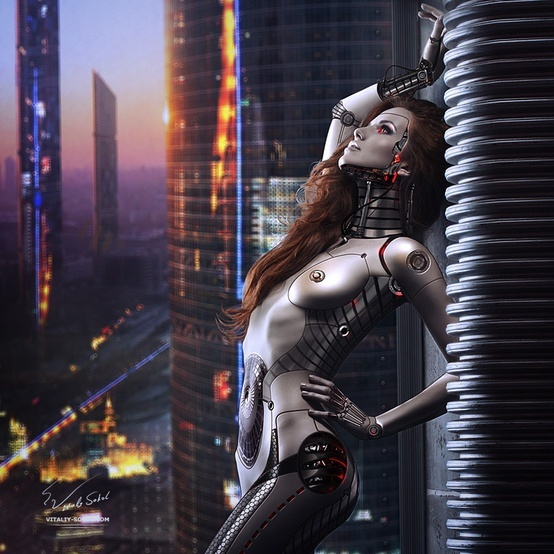 Hot #robot on the roof...
