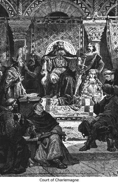 a history of charlemagnes conquests The first written records for the history of france  western part of charlemagne's  these conquests for french history was the norman .