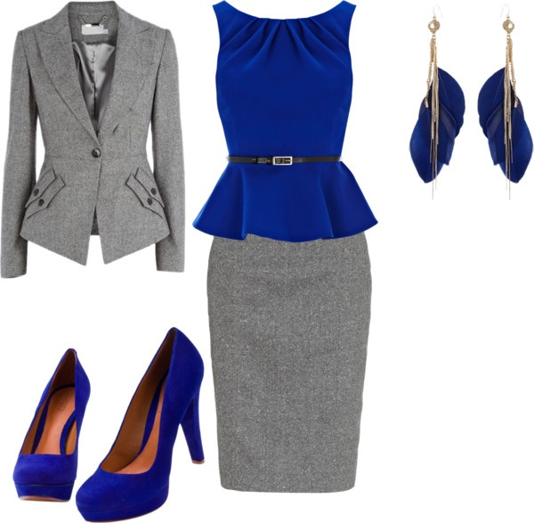 """Work Suit"" by angiestandridge on Polyvore"
