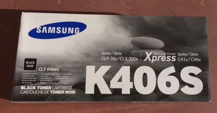 ☀NEW☀Samsung K406S Black Ink Toner Cartridge CLT-K406S Genuine    eBay