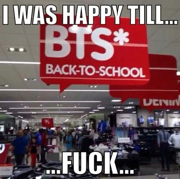 This actually happened to me at the mall one time and I had to explain to my mom why I was so disappointed xD