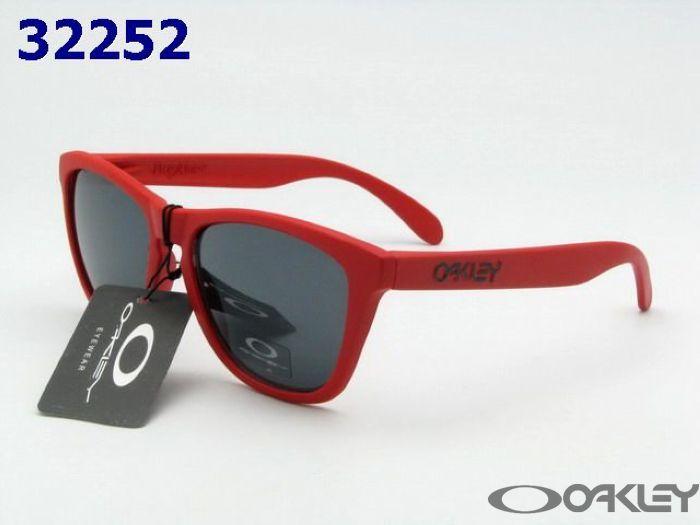 $11.95 Replica oakleys frogskins red sunglasses black iridium