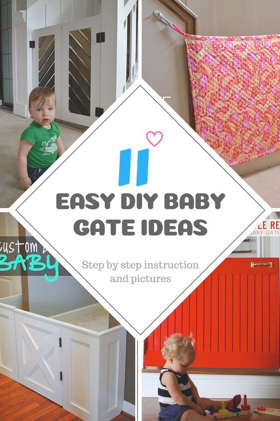 20 Diy Baby Gate Ideas Fabric Pallet And Wood Frame Gates For