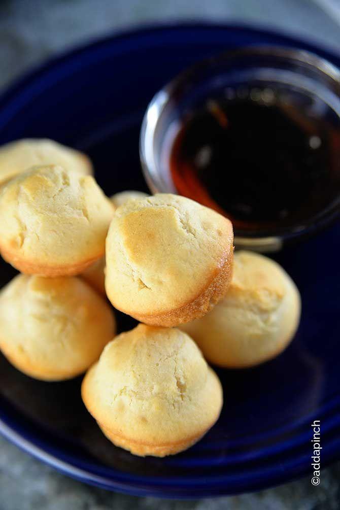 Perfecto Pancake Muffins Receta de addapinch.com