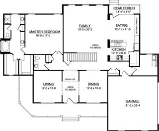 19 best our house plans images on pinterest blueprints for homes the norfolk a house plan for gainesville ga malvernweather Choice Image