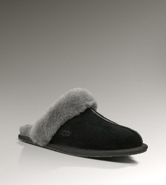 womens ugg slippers black