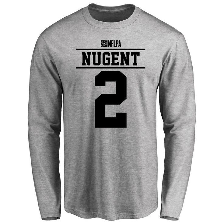 Mike Nugent Player Issued Long Sleeve T-Shirt - Ash