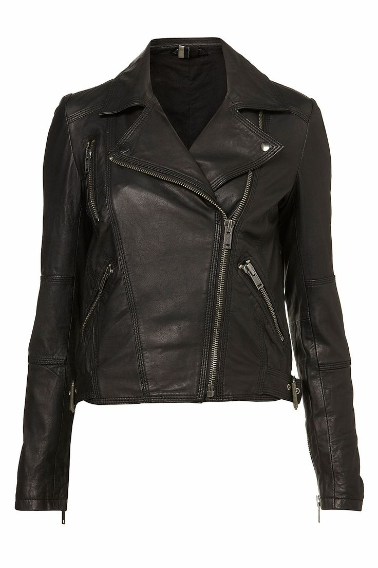 Topshop leather jacket. This, but in green. Oh dear.