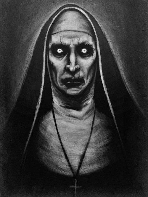Image Result For The Nun Painting
