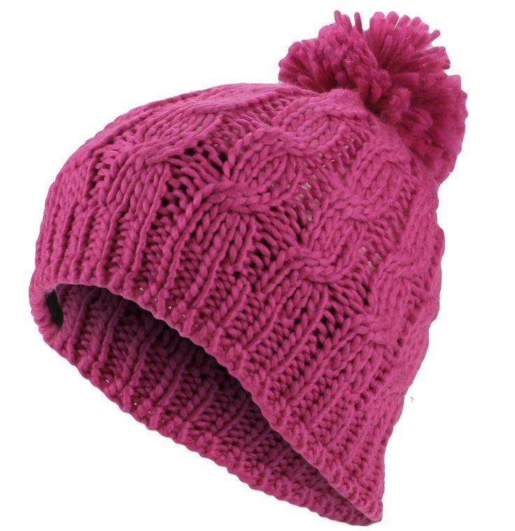 17 mejores ideas sobre gorros de lana mujer en pinterest - Puntos de agujas de lana ...