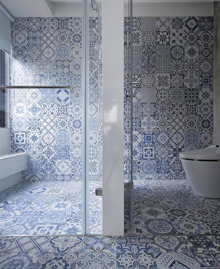 Vzory v koupelne