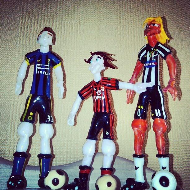 #SerieA #calcio #Football #Inter #Internazionale #Milan #Acmilan #Juve #Juventus #Maldini #Vieri #Nedved #italian #Czech #Murano #Muranoglass #Football #footballfigurines #glass #instafootball