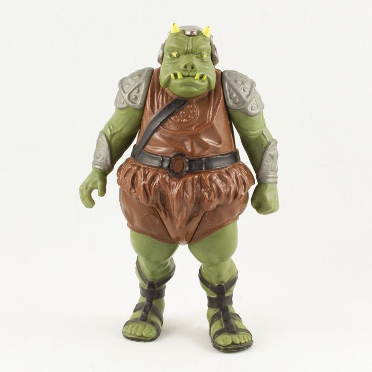 Gamorrean Guard, This vintage Kenner Star Wars Gamorian Guard action figure is in fantastic condition and is an excellent addition to any collection. The limbs are very firm and the paint is in fantastic condition with only a few hairline cracks.