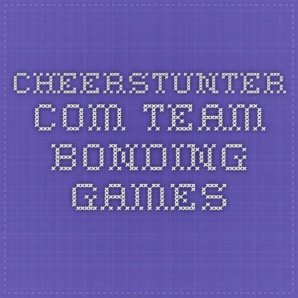 cheerstunter.com  Team Bonding Games