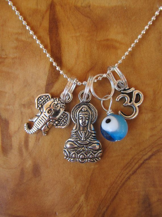 NEW YEAR Protection from Evil Charm Necklace by DestinyAccessory, $24.00