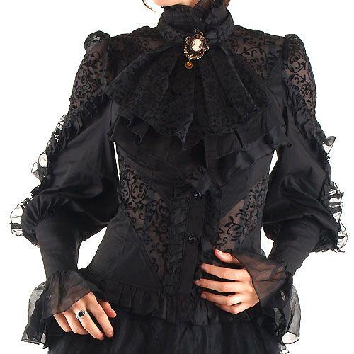 Camisa Victoriana