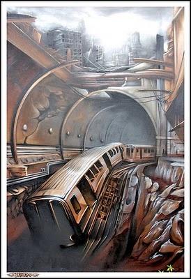 3d graffiti art Would love art like this in la casa
