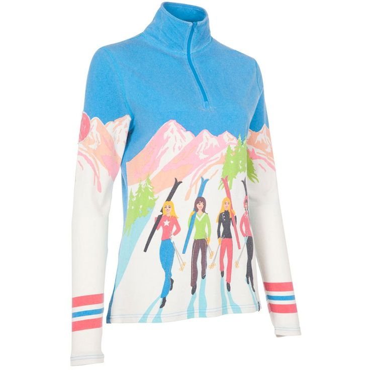 The Courchevel Sweater from Neve was designed with performance in mind, knowing that skiing is supposed to be all about the fun. The limited edition screen printing shows off the good days spent with ...