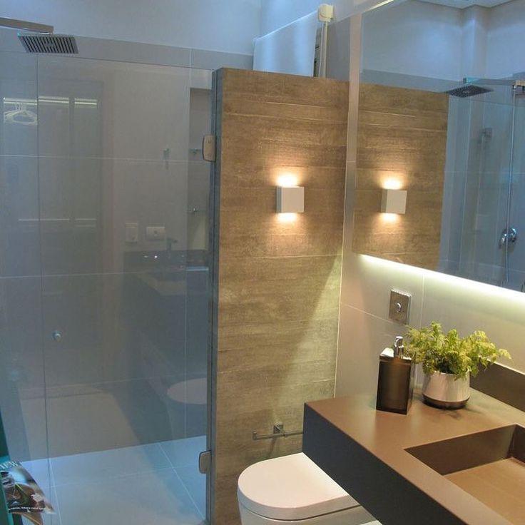 Pequenos e lindos! #bathroom #lightinspired #silestone #cubaesculpida #contemporaneo #decorando #bomsabado #amor #luz #paz #pequenosespacos