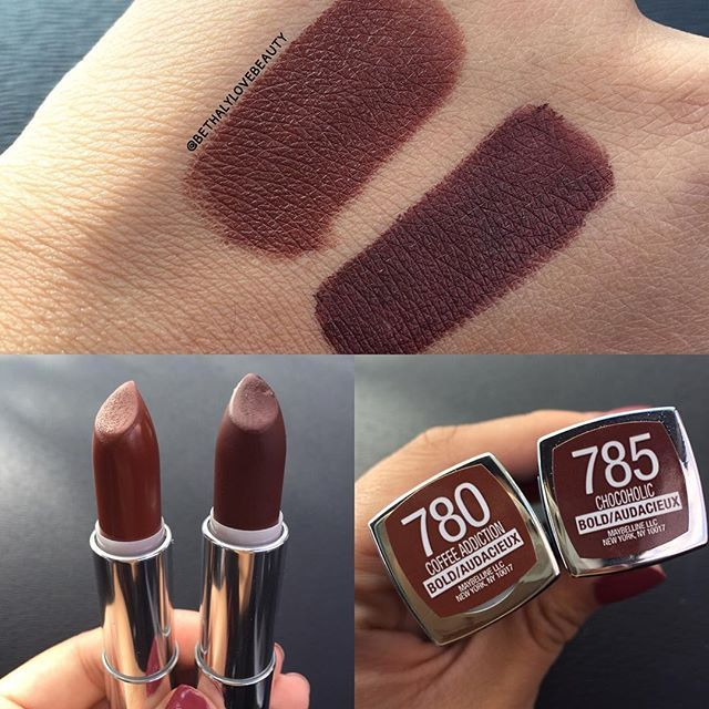Maybelline Coffee Addiction And Chocoholic Makeup Essentials In