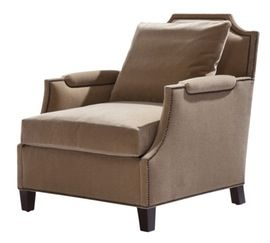 Cavendish Chair  Traditional, Transitional, Upholstery  Fabric, Club Chair by Ebanista