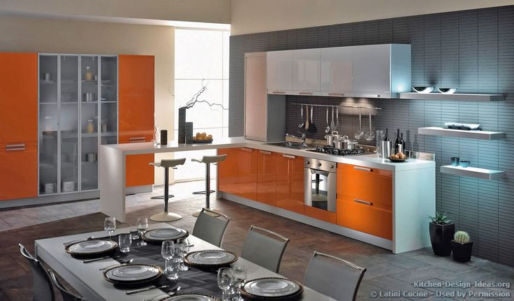 Kitchen Idea of the Day: Modern Two-Tone Kitchens. (By ALNO, AG ...