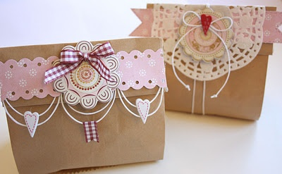 Sweet idea to deliver your home-made cookies