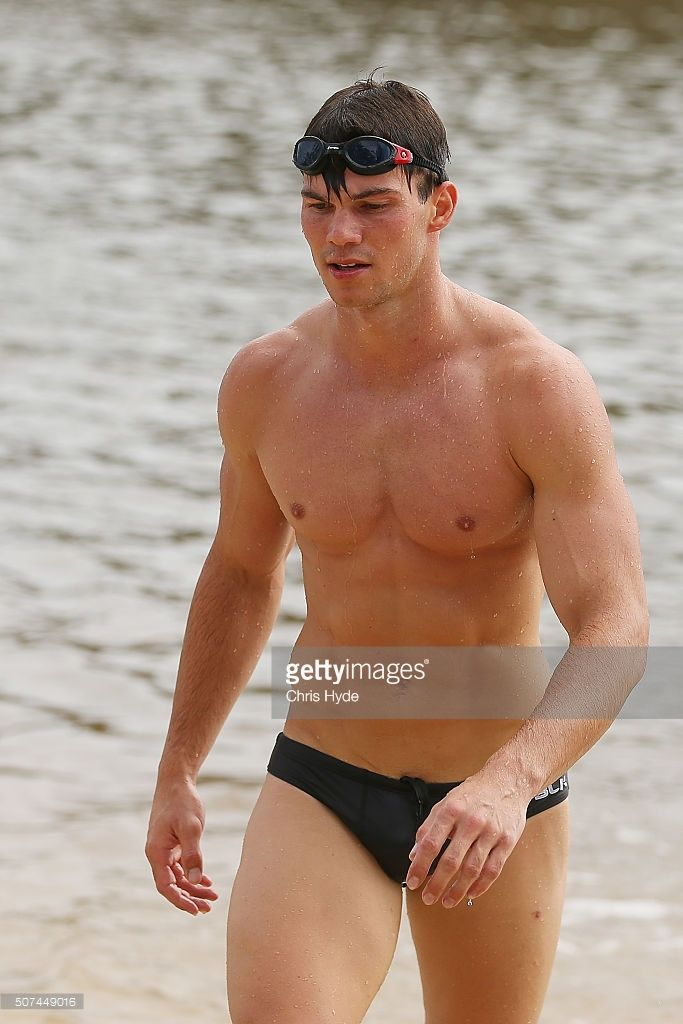 afl players on the beach - Google Search