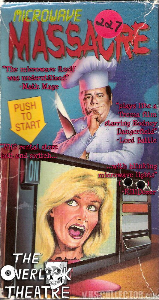 The Overlook Theatre: The Overlook Theatre Reviews: Microwave Massacre