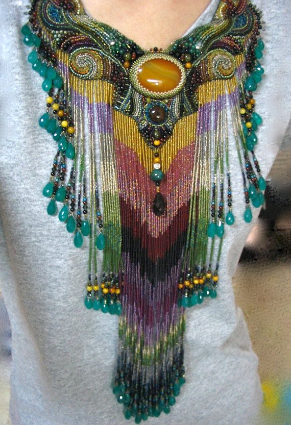 Oh wow, another great fringe!  Queen of my pleasure by ARTSTUDIO51 on Etsy, $1600.00