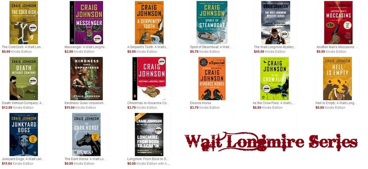 The Walt Longmire Series is one of my favorite series of all times! I'm always sad when I finish a book because I miss the characters. http://play2learnwithsarah.com/what-am-i-reading-walt-longmire-series-by-craig-johnson/