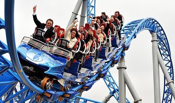 Europa Park, Rust,Germany: Brathtaking roller coaster rides