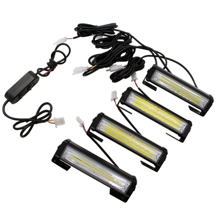 ==> [Free Shipping] Buy Best 4X High Bright 32W Car COB Warning Light External Emegency Strobe Light Car Styling Warning Lamp Free Shipping Hot Sale Online with LOWEST Price | 32732865965