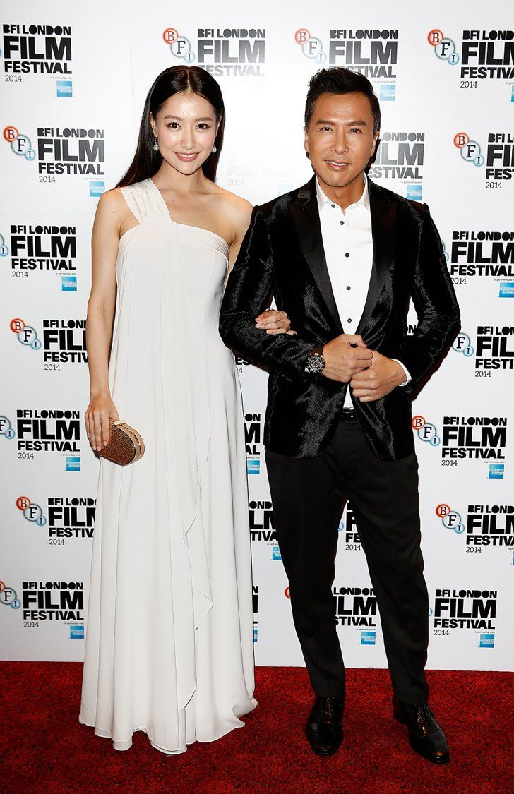 Pin for Later: That's a Wrap! See All the Stars Who Ditched Hollywood For the London Film Festival Michelle Bai and Donnie Yen The actors attended the screening of Kung Fu Jungle on Sunday.