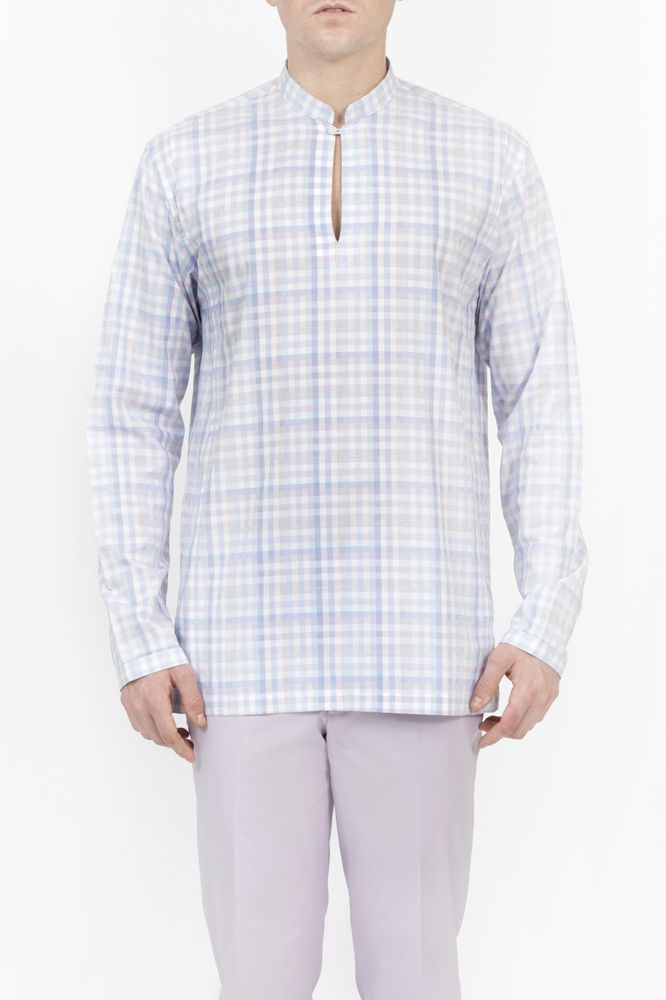 LONG SLEEVE RESORT SHIRT from RAOUL
