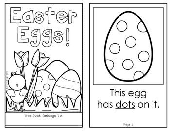 Easter Eggs!  (A Holiday Book for Emergent Readers)  #easter  $1.00