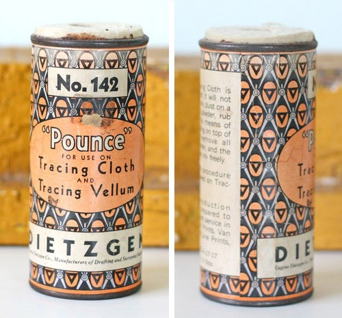 Vintage packaging would be super easy to emulate by using color, type and design on modern materials.