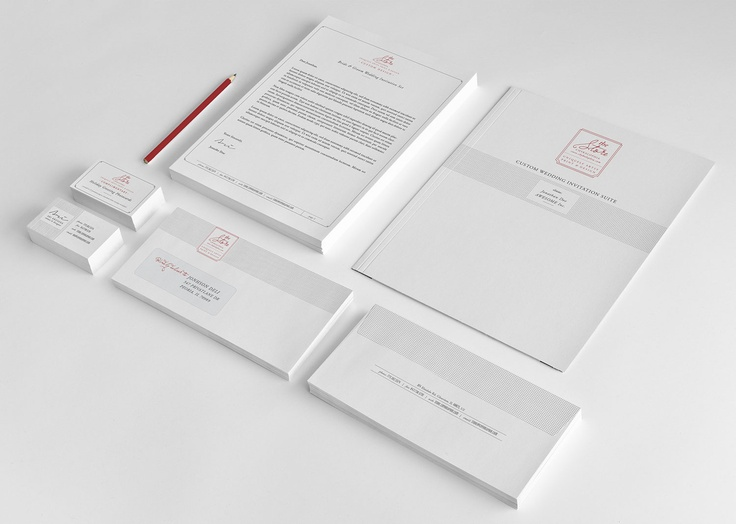 11 best Branded Stationery images on Pinterest | Brand identity ...