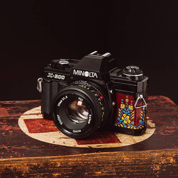 Minolta X-300 50/1.8 functional vintage camera 35mm film