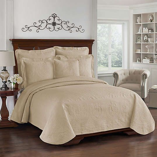 Matelasse Coverlet Scalloped Edge Bed Bath Beyond Bed Spreads Discount Bedroom Furniture Classic Bedroom