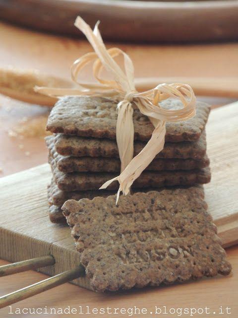 La cucina delle streghe: Biscotti con farina di grano saraceno e zucchero di canna