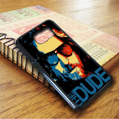 Red Blue Big Lebowski The Dude Samsung Galaxy S7 Case