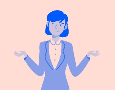 Animated Illustrations for Notified's website.