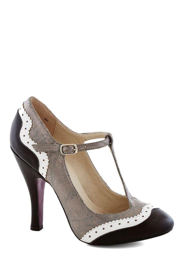 Living the Gleam Heel | Mod Retro Vintage Heels | ModCloth.com