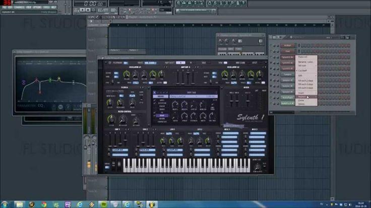Arpeggiated Squelches with Sylenth1[FL studio]