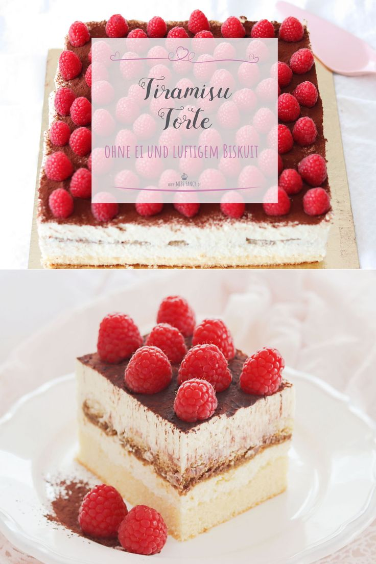Ohne Ei: Eine traumhaft leckere Tiramisu Torte