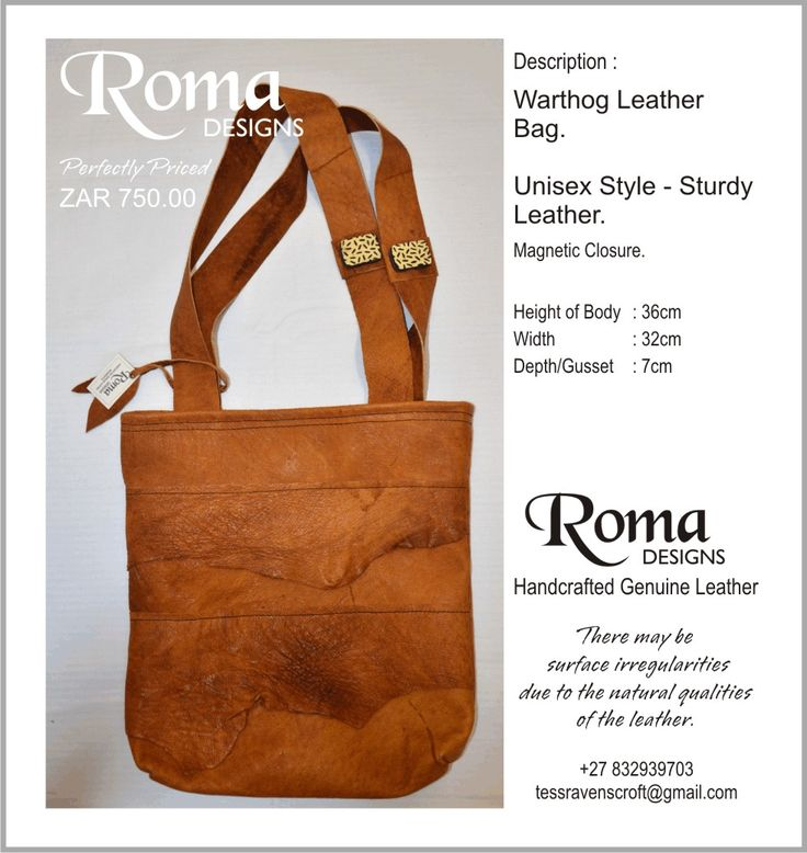 Genuine Leather Bags Handcrafted.