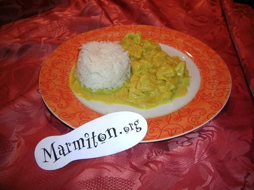 Poulet coco ananas : Recette de Poulet coco ananas - Marmiton