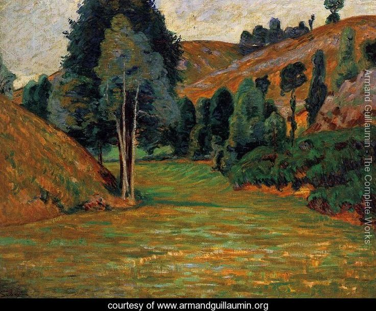 Small Valley At Pontgibaud - Armand Guillaumin - www.armandguillaumin.org