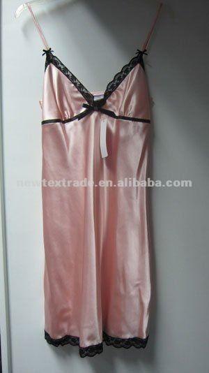 Longue chemise de nuit en satin lingerie boisl/dentelle lingerie adultes-Pyjamas-Id du produit:577460185-french.alibaba.com
